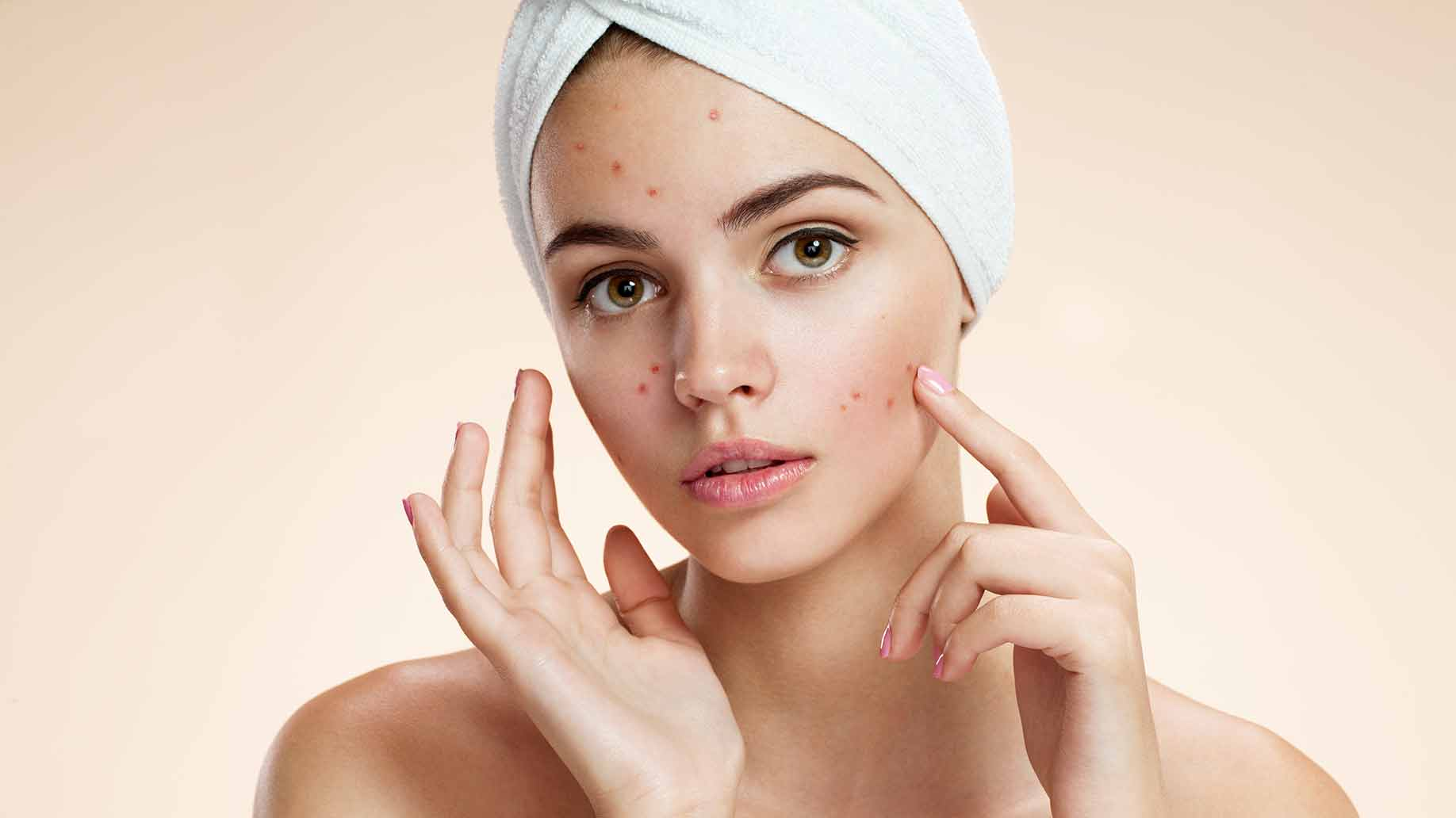 Natural skin care female
