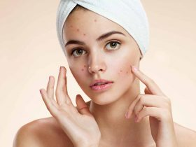 Natural skin care female